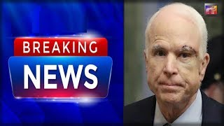 "BREAKING: McCain Just Emerged From His Deathbed Giving His FINAL Order to say ""F You"" to Trump"