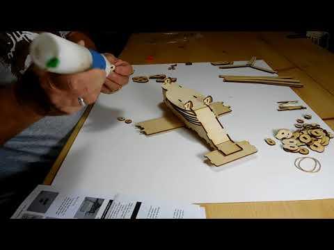 "Osprey V22 LazerModels ""They're Kits You Build"" Laser Cut Wood Models"