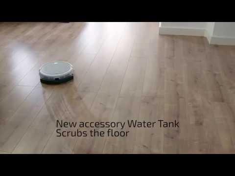Robot vacuum cleaner Conga Slim 890   English