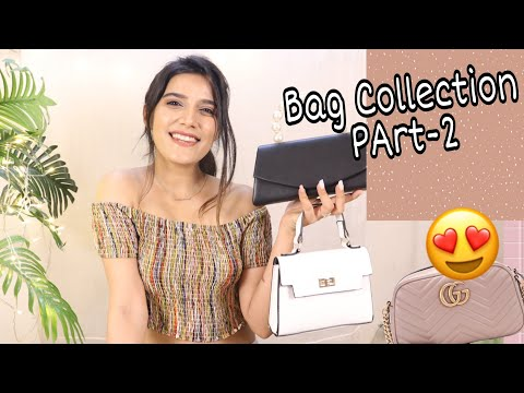 My Bag Collection Part - 2 | Clutches, Handbags, tote bags and more | Super Style Tips