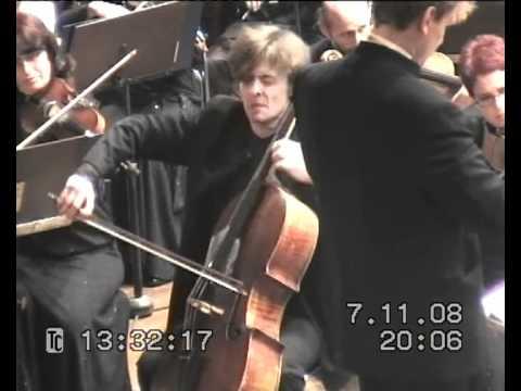 R. Schumann Cello Concerto a-moll (part1) Rustam Komachkov
