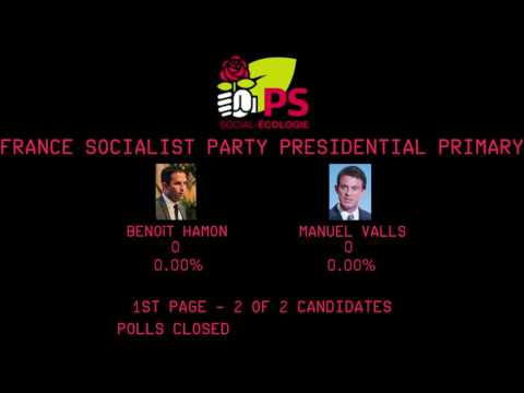 Coverage Of The France Socialist Party Presidential Primary - Round 2 - #Election2017