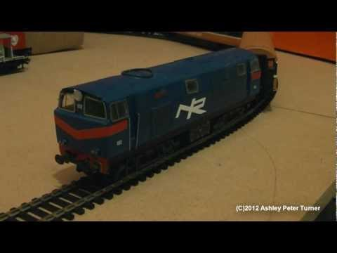 Silverfox Models Hunslet Falcon, 102 NIR Northern Ireland Railways (OO Gauge) Overview HD