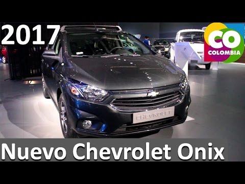 nuevo chevrolet onix 2017 ficha tecnica y caracteristicas - youtube