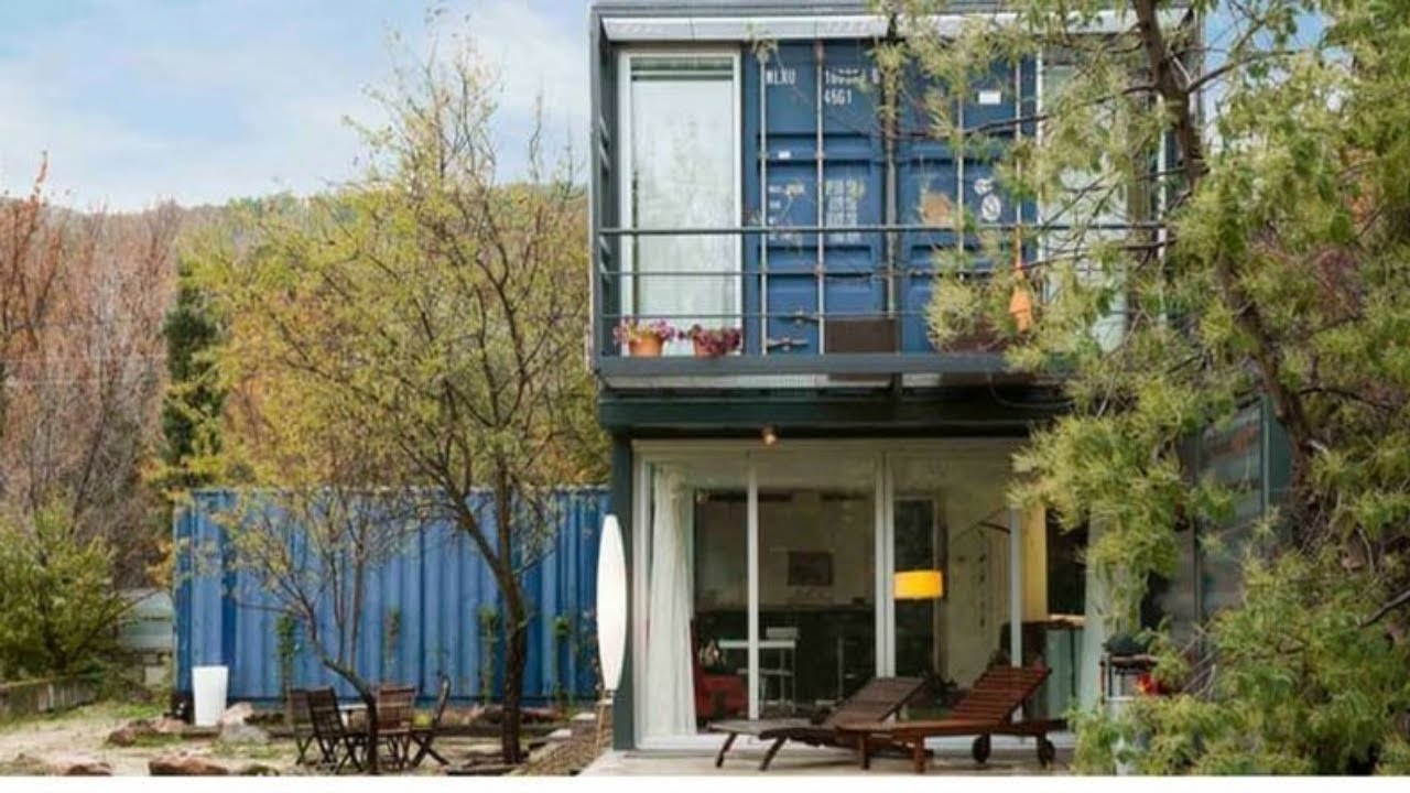 stunning stacked shipping container home in spain