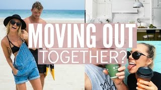 MOVING OUT TOGETHER!? Apartment Hunting + Day In The Life