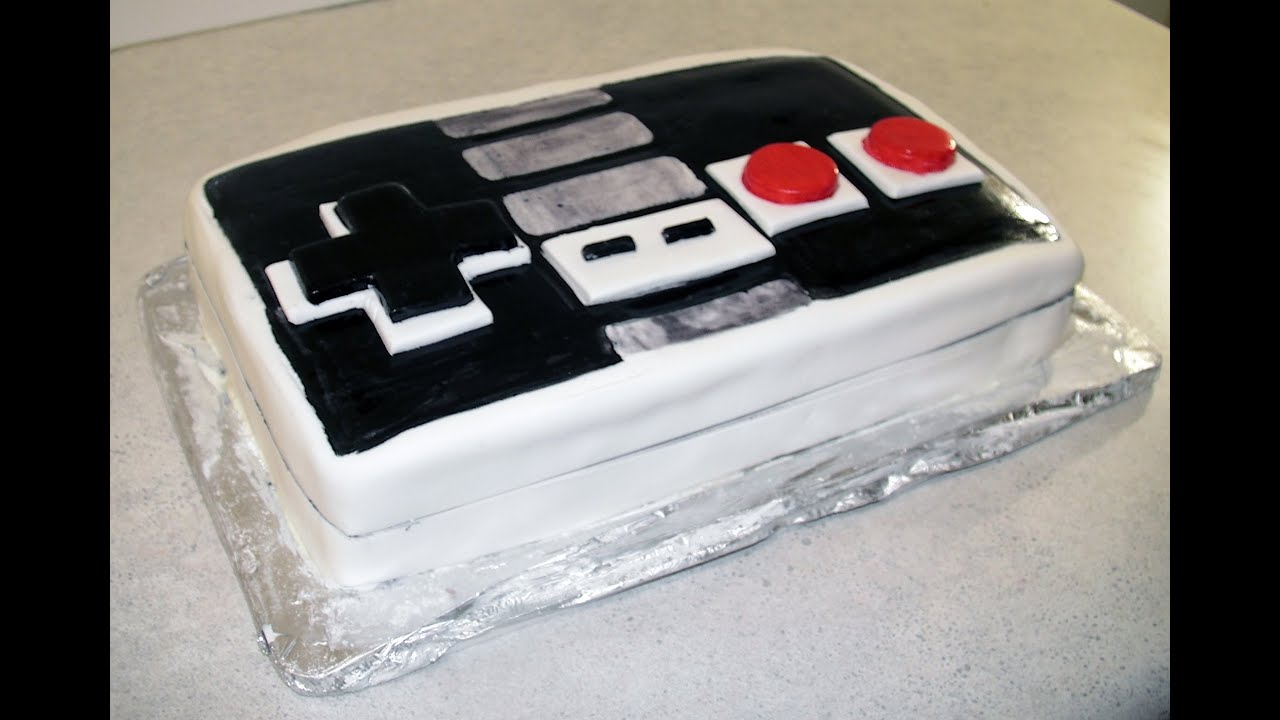 Retro Nintendo Controller Koolaid Cake howto YouTube