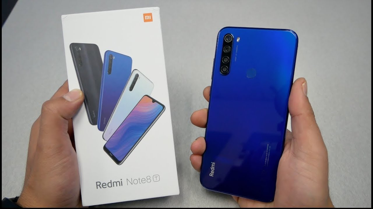 Xiaomi Redmi Note 8T Unboxing & Review