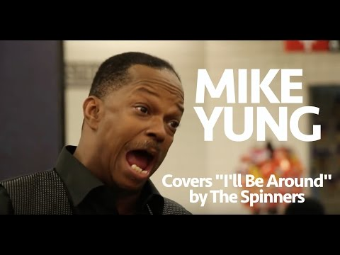 Mike Yung NYC Subway Performer: I'll Be Around by The Spinners
