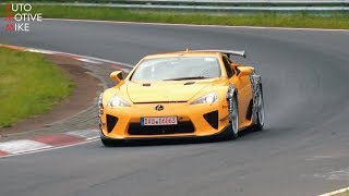 Lexus LFA Nurburgring Videos