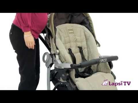 коляска прогулочная GEOBY C922 wmv - YouTube
