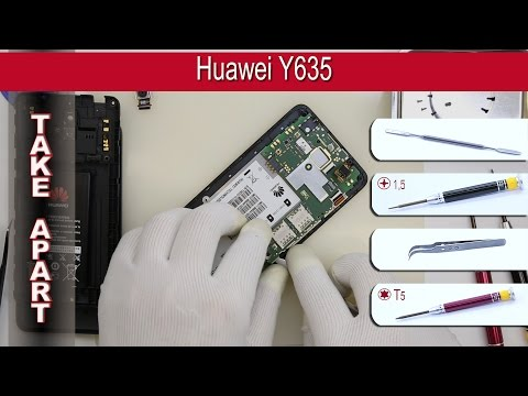 How to disassemble 📱 Huawei Y635 Take apart Tutorial