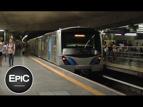 Metrô de São Paulo, Brazil / Metropolitano de São Paulo, Brasil (HD)