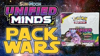 PACK WARS!!! Pokemon Unifed Minds Booster Box Opening!