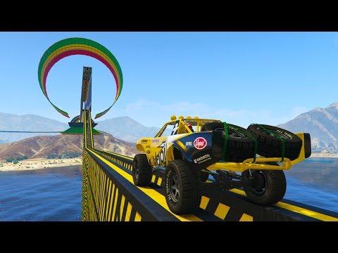 SUPER IMPOSIBLE!! MÁXIMA PUNTERIA!! - CARRERA GTA V ONLINE - GTA 5 ONLINE