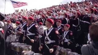 The Ohio State University Marching Band plays the Buckeye Battle Cry at Purdue, 2013