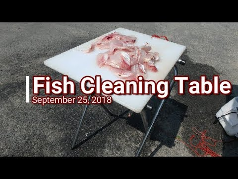 Portable Fish Cleaning Station