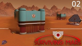 Surviving Mars Japan - Part 02 - Automated Metal Extractors! - Let's Play Surviving Mars