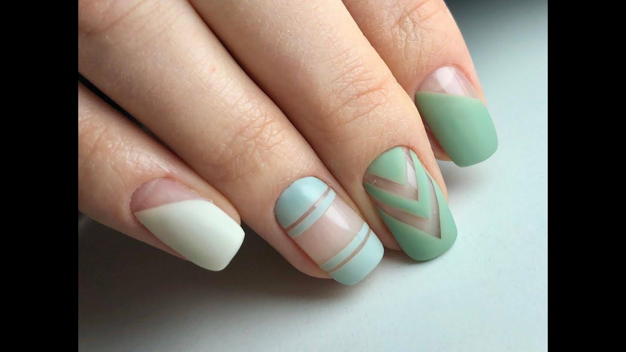 Геометрия 2019. Маникюр. Весенний дизайн ногтей 2019 дизайн ногтей девушек картинки