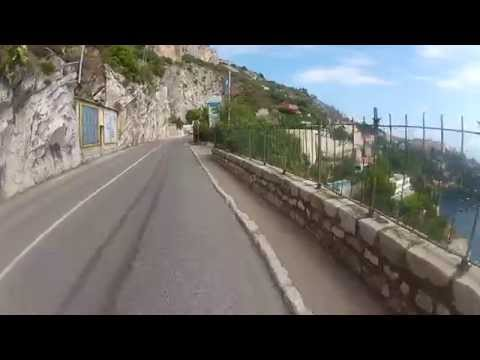Monaco, France. French Riviera,CAP d AIL area. Fatih Aksoy. Cycling Europe