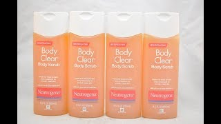 Sữa TắmTrị Mụn Neutrogena Body Clear Body Scrub - Khỏe Đẹp Tại Nhà