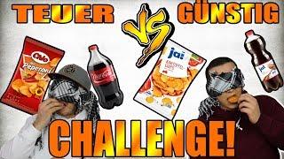 TEUER VS. GÜNSTIG ! | ESSEN CHALLENGE | mit Peter