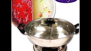 Review:  Sonya Shabu Shabu Hot Pot Electric Mongolian Hot Pot WDIVIDER