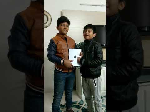 Aayan wins iPad
