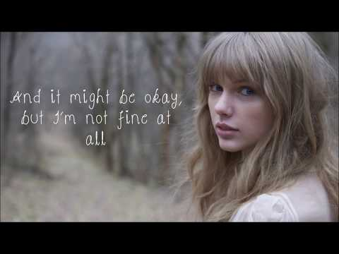 All Too Well - Taylor Swift Grammys 2014 performance Lyric Video