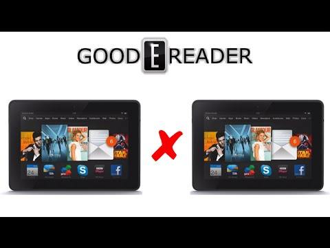 Amazon Fire HDX 8.9: 2013 vs 2014 Comparison