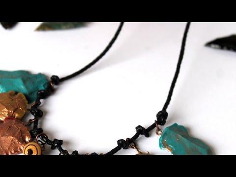 Create a Resin Arrowhead Necklace - DIY Style - Guidecentral