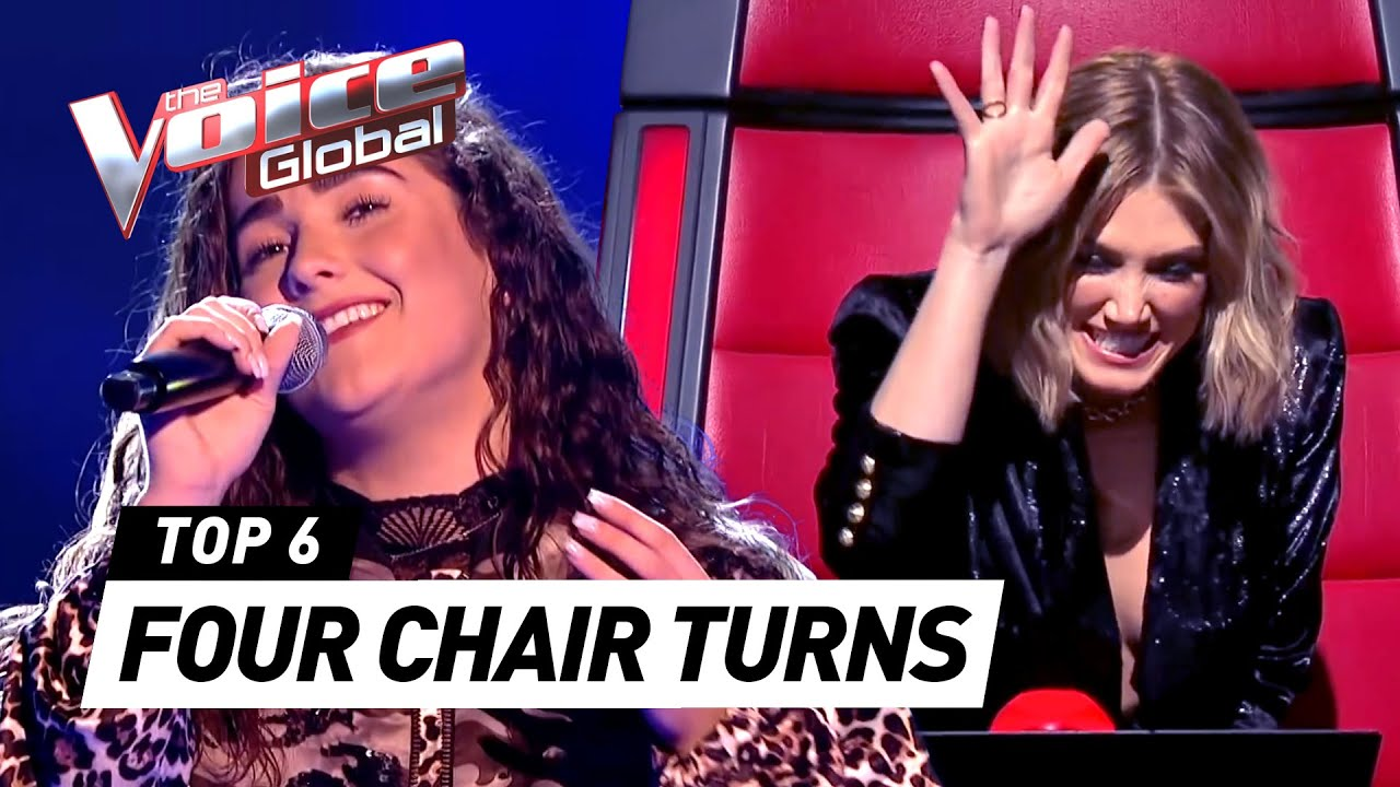 BEST ALL CHAIR TURN Blind Auditions in The Voice