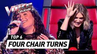 Download Lagu BEST ALL CHAIR TURN Blind Auditions in The Voice mp3