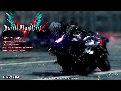 DEVIL MAY CRY 5 OST-DEVIL TRIGGER WITH LYRICS SONG BY ALI EDWARDS AND CASEY EDWARDS
