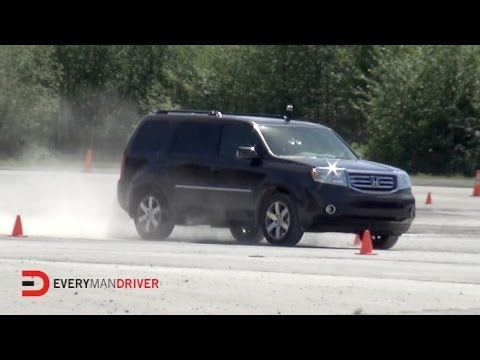 Here's the 2014 Honda Pilot 4WD Test Drive on Everyman Driver