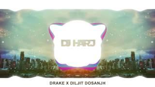 Diljitxdrake - dj harj matharu (bhangra remix)