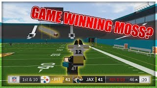 GAME WINNING MOSS? - ROBLOX Legendary Football Gameplay #1