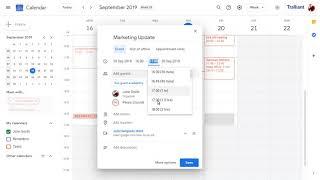 Set your working hours in Google Calendar