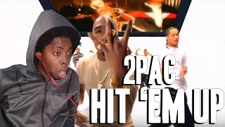 THIS IS TOO MUCH!!! 2Pac - Hit 'Em Up (Dirty) (REACTION!!!)