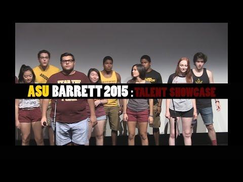 2015 Arizona State University Barrett Talent Showcase