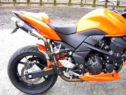 Kawasaki Z750 2008 Orange Ermax Double IXIL