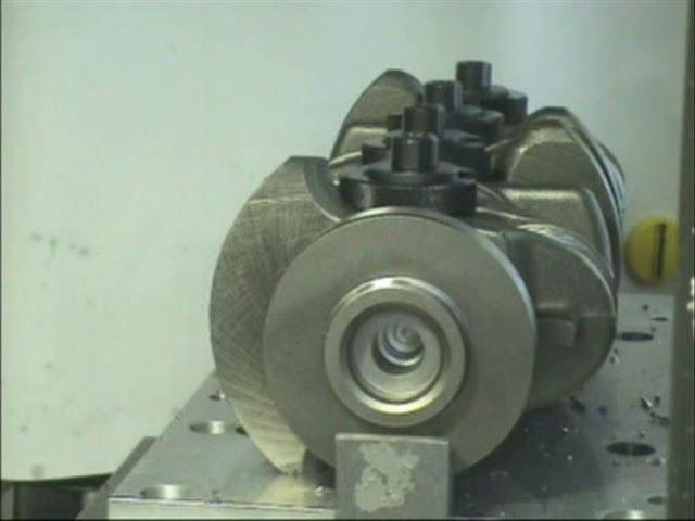 Mecanizado Cigüeñal con MQL