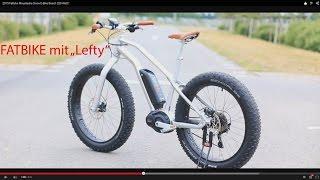 2015 Fatbike Moustache Snow E-Bike Bosch 250 Watt !