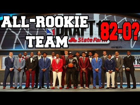 2016 ALL-ROOKIE TEAM - NBA 2K16 MY LEAGUE