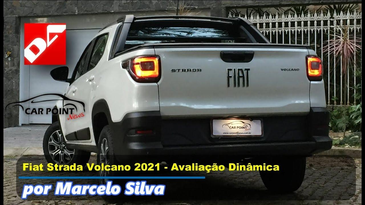 CarPoint News - Fiat Strada Cabine Dupla Volcano 2021