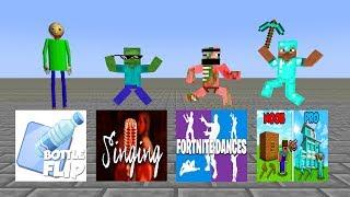 Monster School : SEASON 5 - Minecraft Animation
