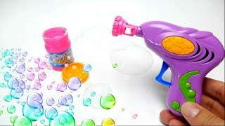 Soap Bubble Gun Toy for Kids