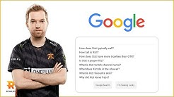 Xizt answers the web's most searched questions | Autocomplete Challenge