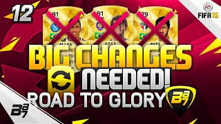 FIFA 16 | THE ULTIMATE ROAD TO GLORY! CHANGES NEEDED! #12