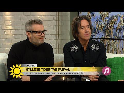 Gyllene Tider tar farväl med en sista turné i sommar! - Nyhetsmorgon (TV4)
